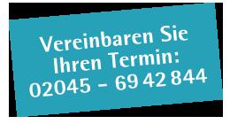 Telefonnummer für Termine bei Physiotherapie Plewan Bottrop-Grafenwald